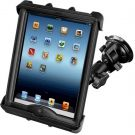 RAM Mount uchwyt do Apple iPad w futerale LifeProof & Lifedge montowany do szyby (RAM-B-166-TAB17U)